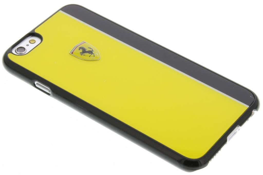 Ferrari Paddock Hard Case voor de iPhone 6 / 6s - Geel & Zwart