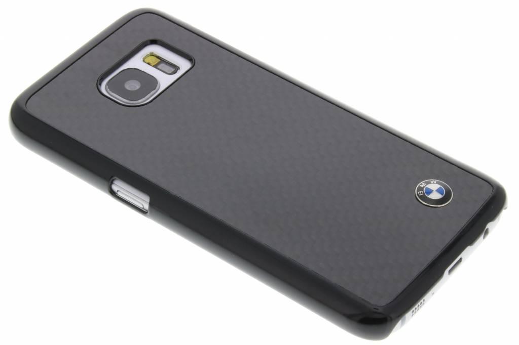 BMW Real Carbon Fiber Case voor de Samsung Galaxy S7 - Zwart