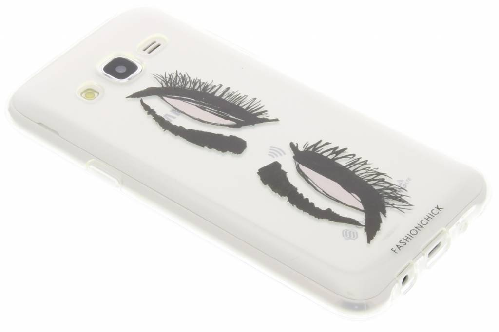 Fashionchick Eyes Softcase voor de Samsung Galaxy J5