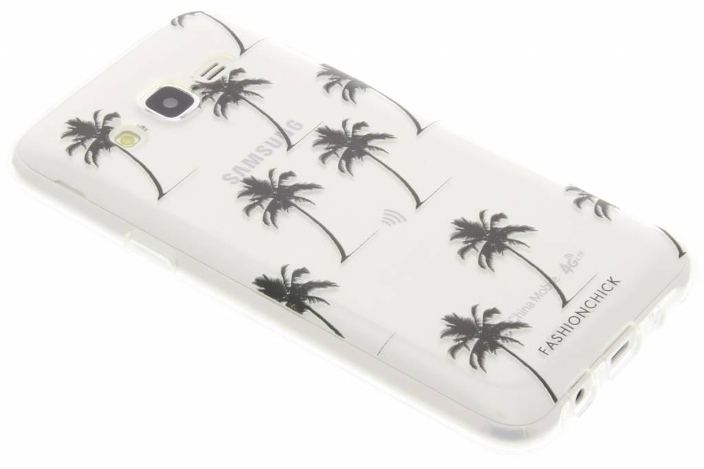 Fashionchick Palmtrees Softcase voor de Samsung Galaxy J5