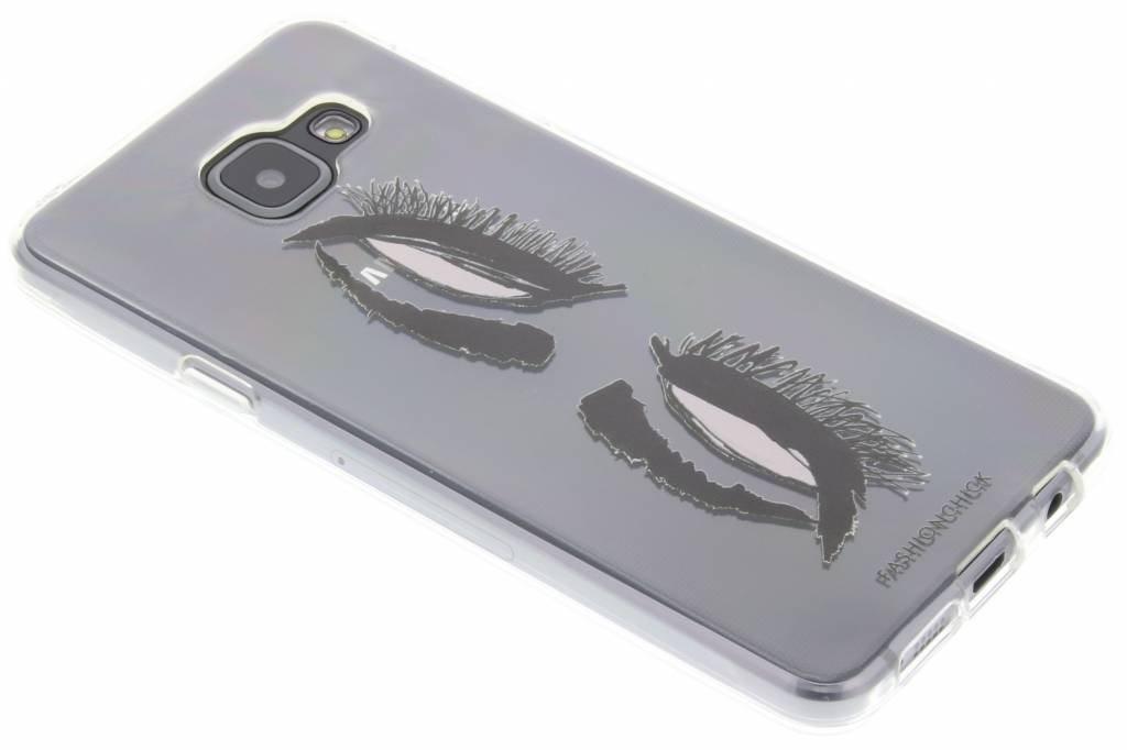 Fashionchick Eyes Softcase voor de Samsung Galaxy A3 (2016)