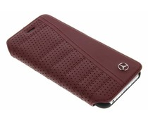 Mercedes-Benz Leather Booktype iPhone 6 / 6s - Rood