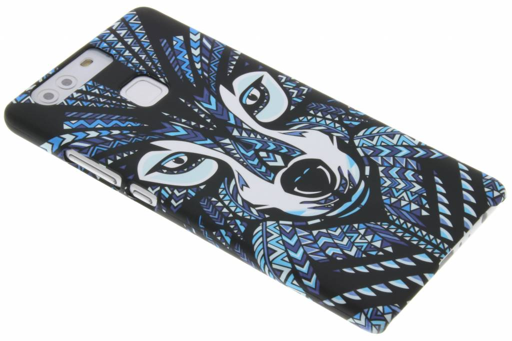 Wolf aztec animal design hardcase hoesje voor de Huawei P9