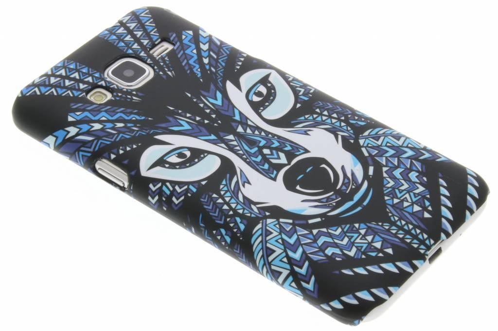 Wolf aztec animal design hardcase hoesje voor de Samsung Galaxy J3 / J3 (2016)