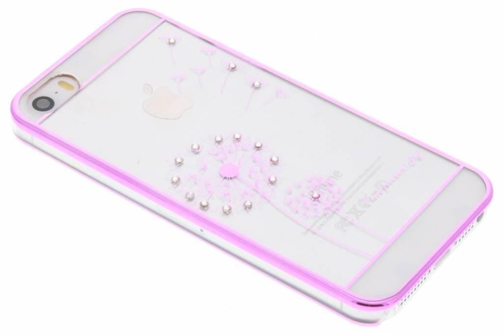 Transparant paardenbloem design hardcase hoesje voor de iPhone 5 / 5s / SE