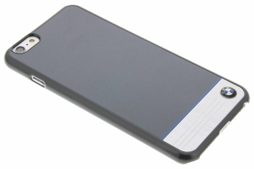 BMW Hard Case Aluminium Plate voor de iPhone 6(s) Plus - Grijs