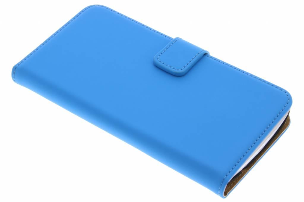 Selencia Luxe Book Case voor de LG K8 - Blauw