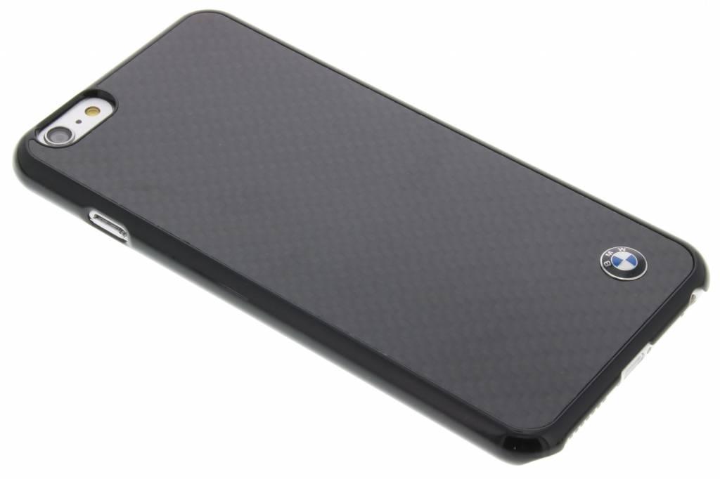 BMW Real Carbon Fiber Case voor de iPhone 6(s) Plus - Zwart
