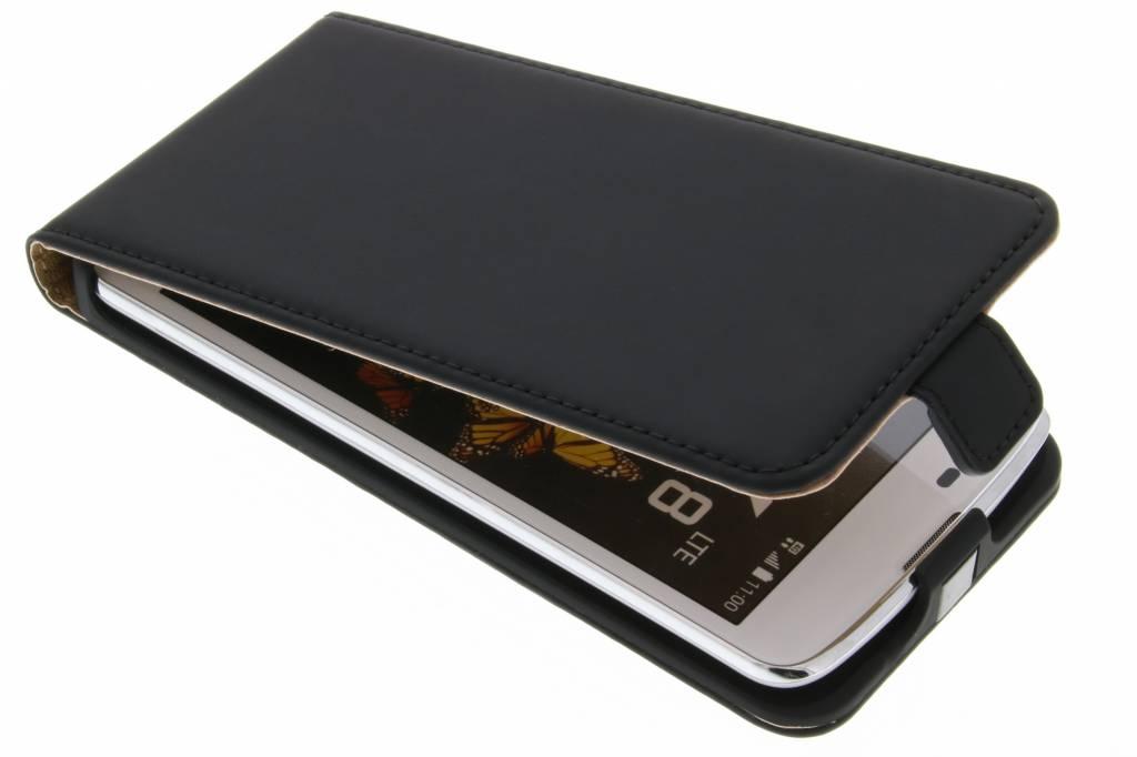 Selencia Luxe Flipcase voor de LG K8 - Zwart