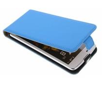 Selencia Luxe Flipcase LG K8 - Blauw