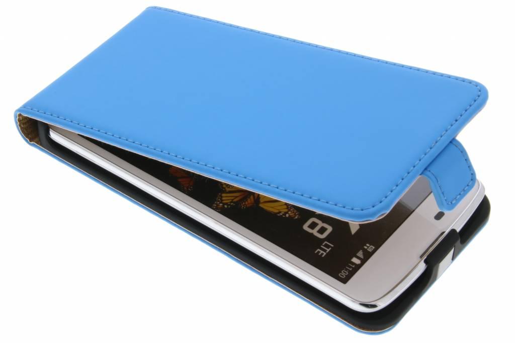 Selencia Luxe Flipcase voor de LG K8 - Blauw
