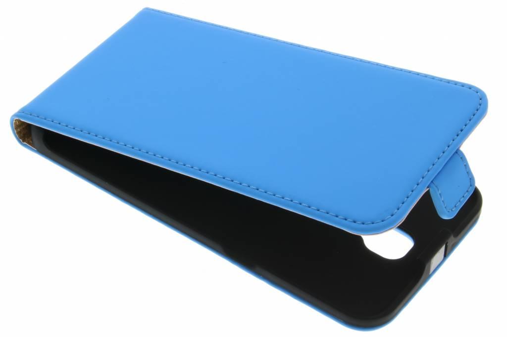 Selencia Luxe Flipcase voor de LG X Screen - Blauw