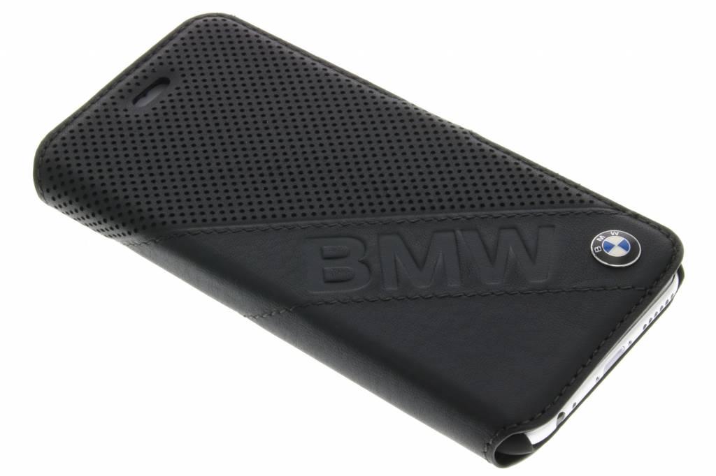 Image of Booktype Case Slanted Logo voor de iPhone 6 / 6s - Zwart