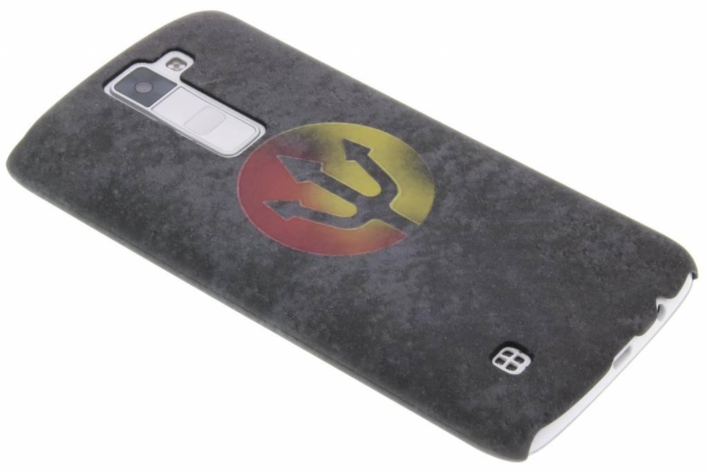 Drietand design hardcase hoesje voor de LG K8