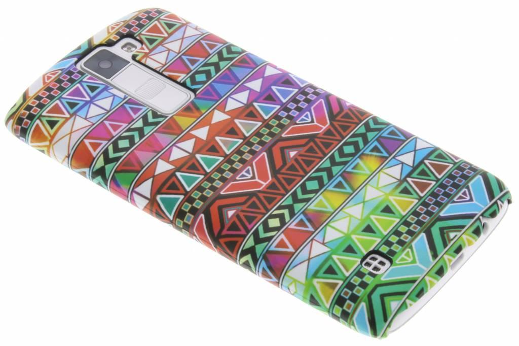 Aztec design hardcase hoesje voor de LG K8