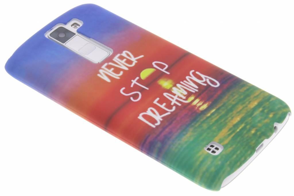 Dreaming design hardcase hoesje voor de LG K8