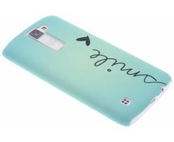 Design hardcase hoesje LG K8