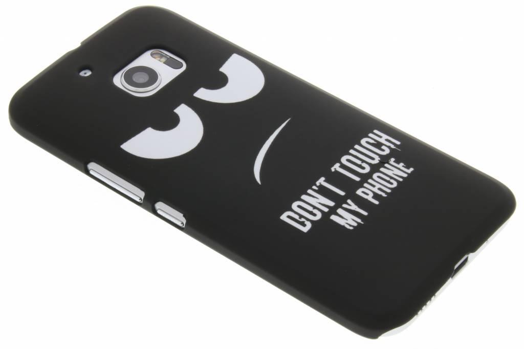 Don't touch design hardcase hoesje voor de HTC 10