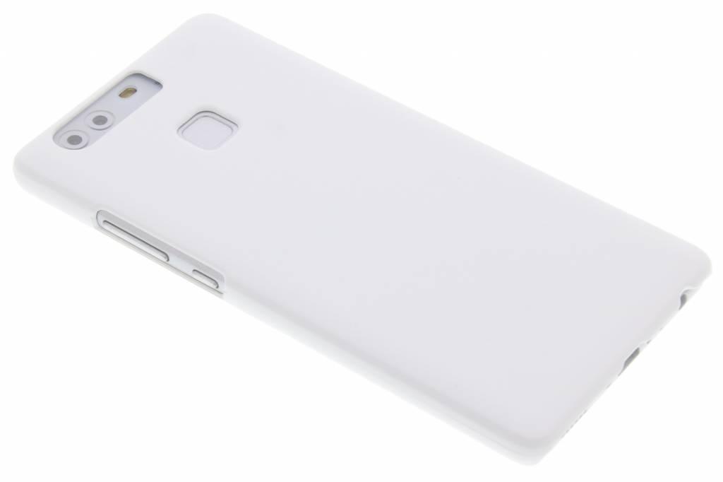 Wit effen hardcase hoesje voor de Huawei P9