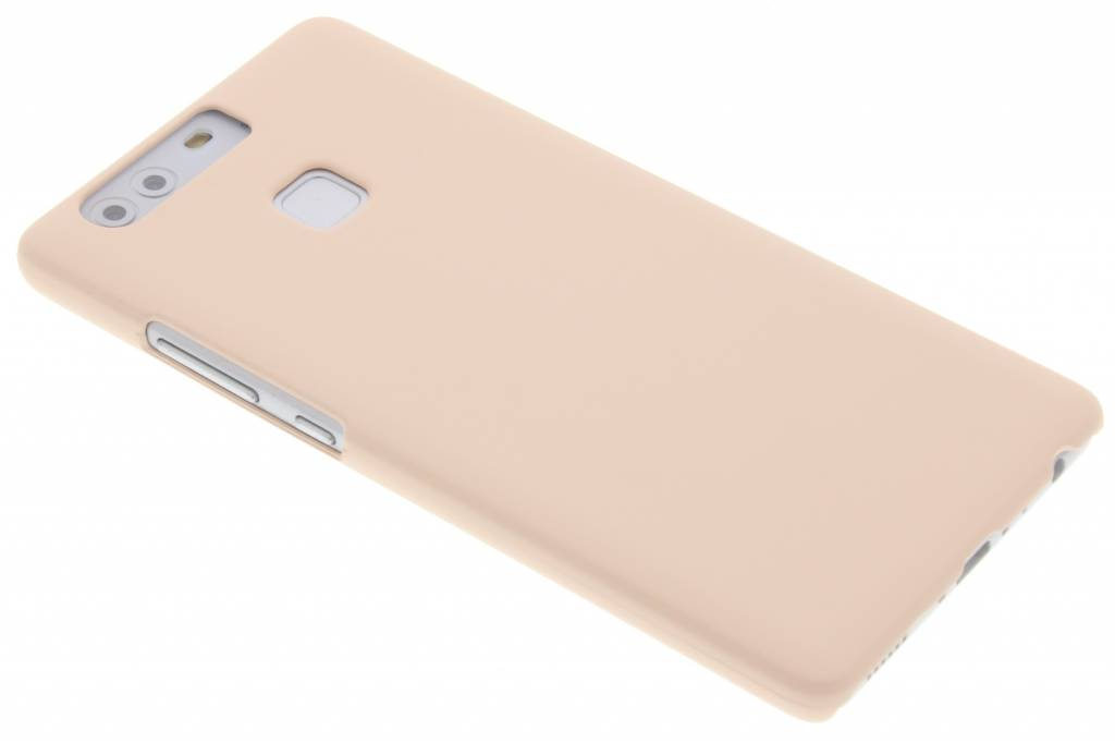 Poederroze pastel hardcase hoesje voor de Huawei P9