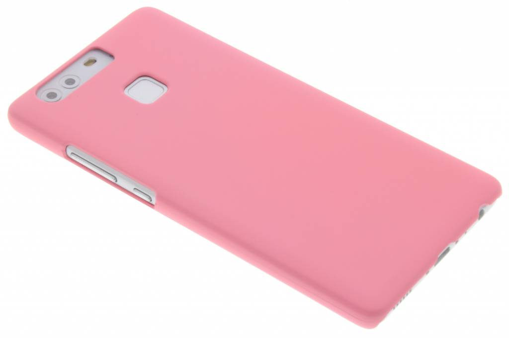 Roze effen hardcase hoesje voor de Huawei P9