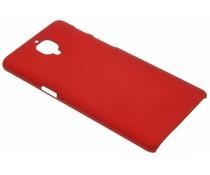 Rood effen hardcase hoesje OnePlus 3 / 3T