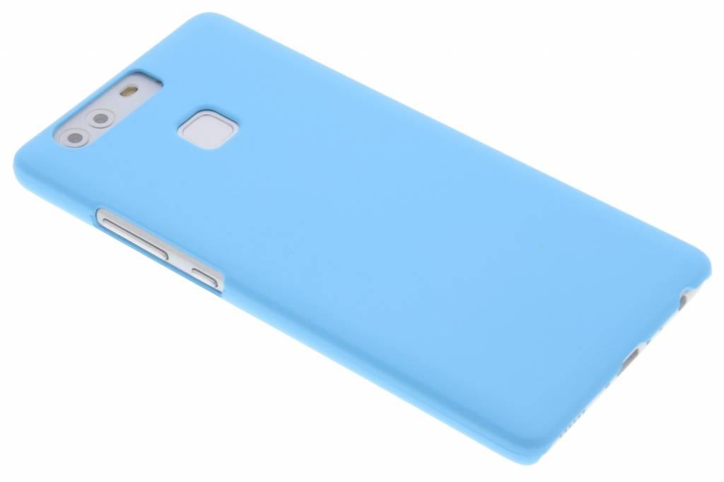 Lichtblauw effen hardcase hoesje voor de Huawei P9 Plus