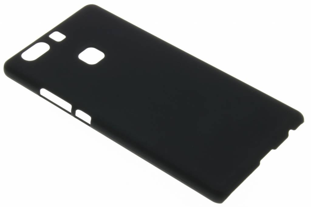 Zwart effen hardcase hoesje voor de Huawei P9 Plus