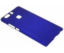 Blauw effen hardcase hoesje Huawei P9 Plus