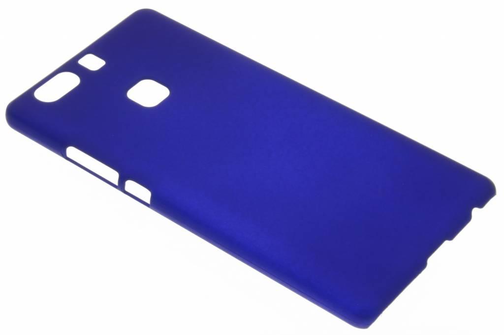 Blauw effen hardcase hoesje voor de Huawei P9 Plus