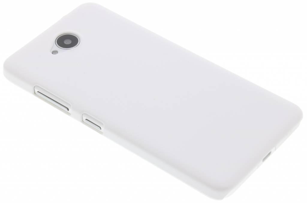 Wit effen hardcase hoesje voor de Microsoft Lumia 650