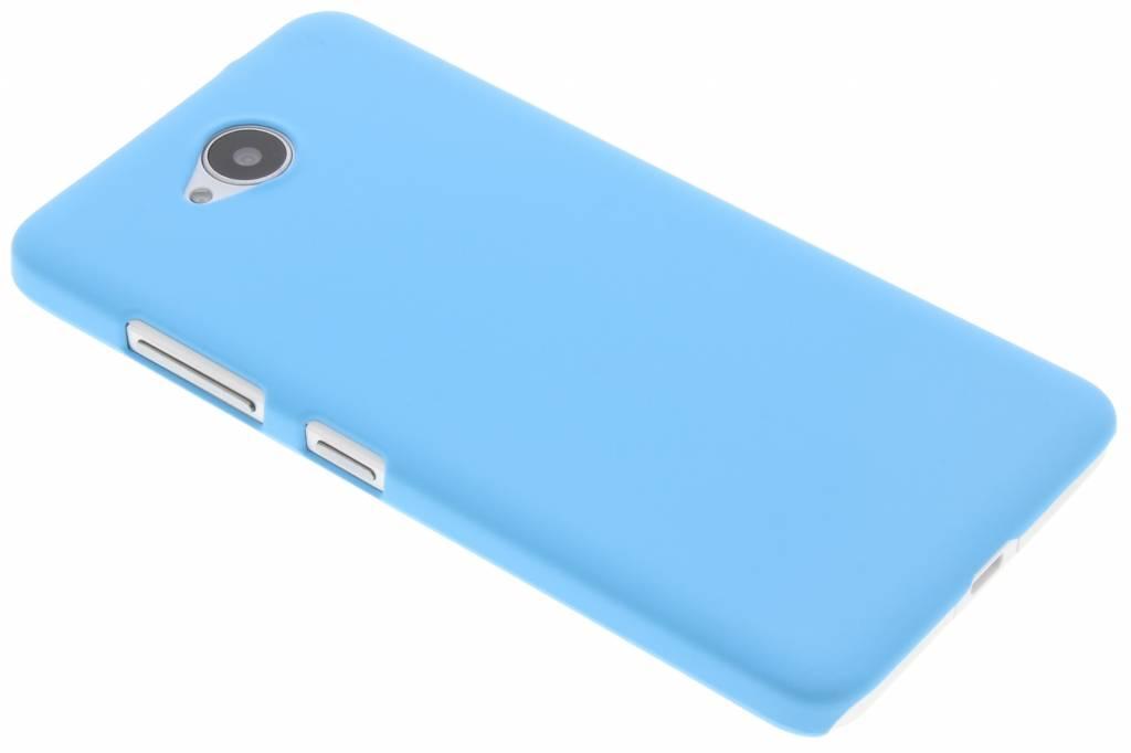 Lichtblauw effen hardcase hoesje voor de Microsoft Lumia 650