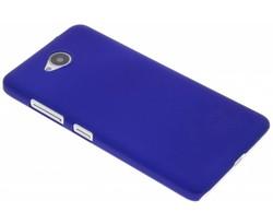 Blauw effen hardcase hoesje Microsoft Lumia 650