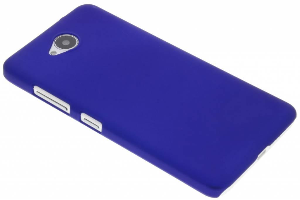 Blauw effen hardcase hoesje voor de Microsoft Lumia 650