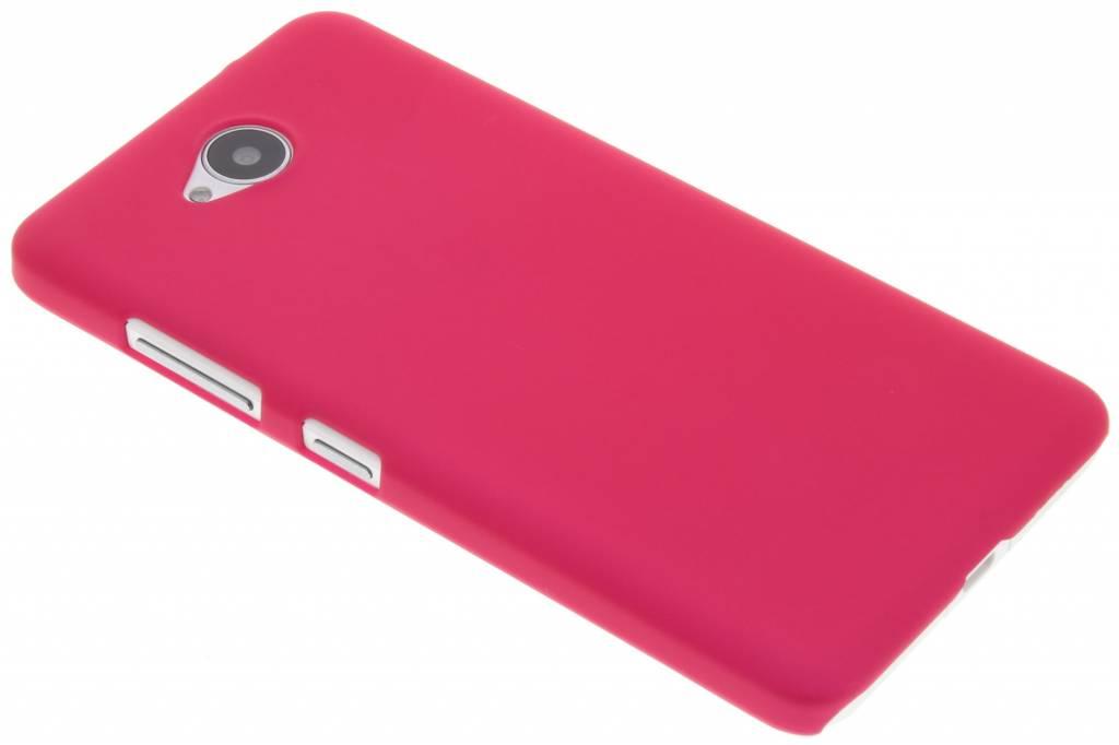 Fuchsia effen hardcase hoesje voor de Microsoft Lumia 650
