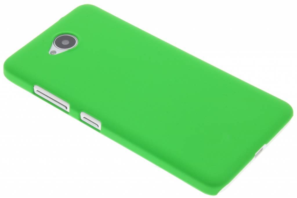 Groen effen hardcase hoesje voor de Microsoft Lumia 650
