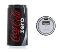 Coca-Cola Zero Blik Powerbank 2400 mAh - 1A