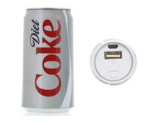 Coca-Cola Light Blik Powerbank 2400 mAh - 1A