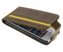 Valenta Stripe flipcase iPhone 5 / 5s / SE