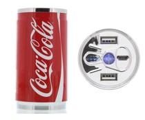 Coca-Cola Regular Blik 2-Poorts Powerbank 10.400 mAh