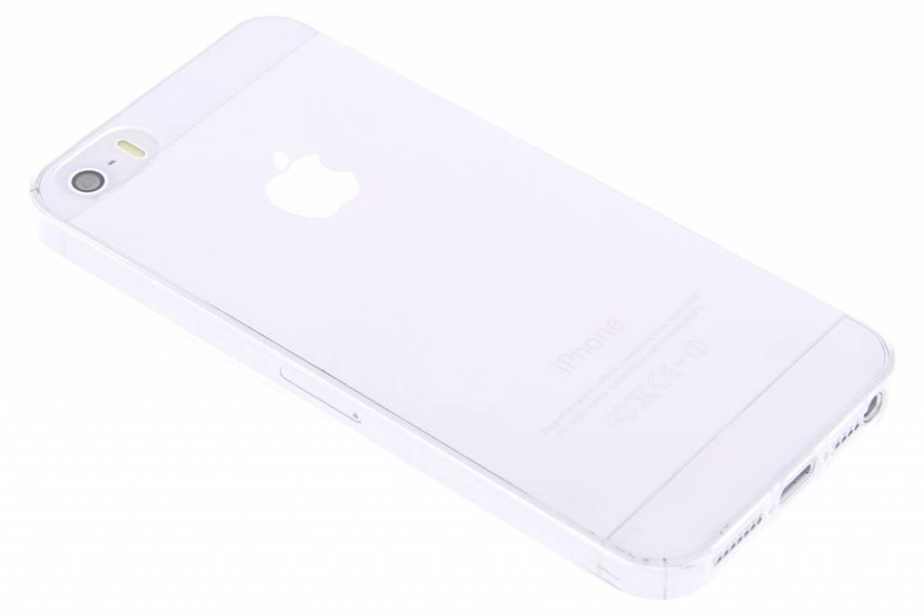 Ultra thin transparant TPU hoesje voor de iPhone 5 / 5s / SE