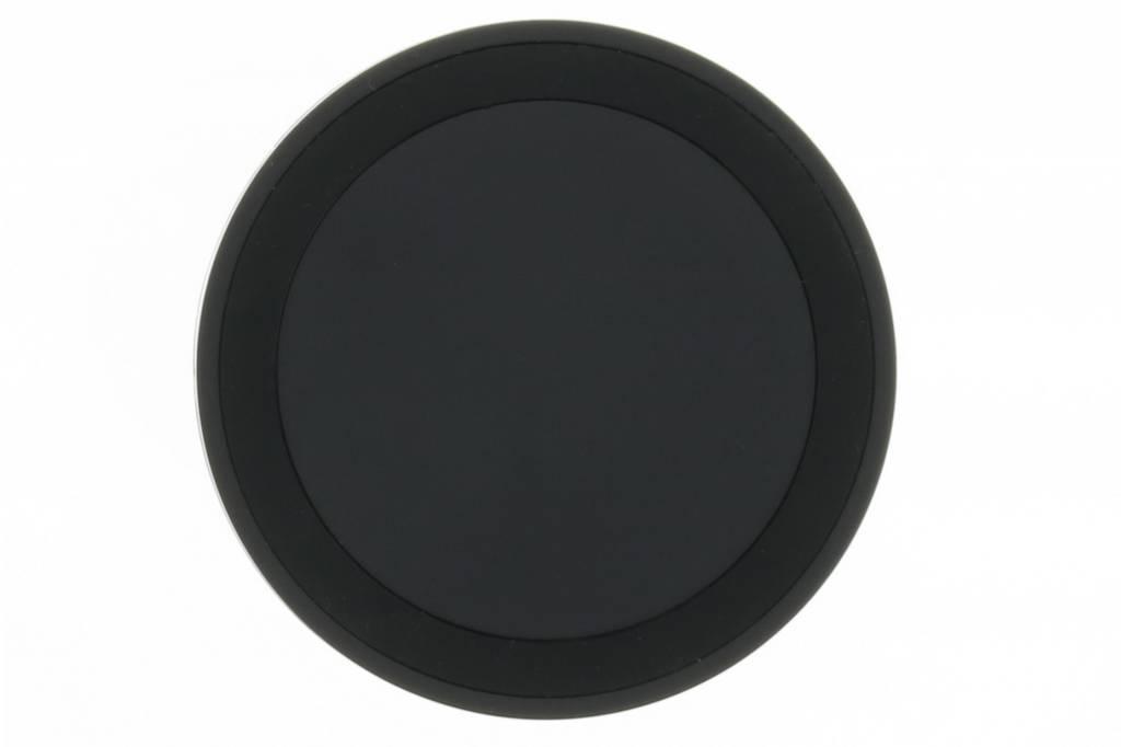 Qi Wireless Charging Plate universele draadloze oplader Zwart