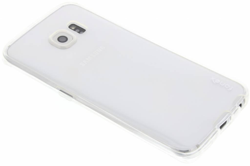 Fonex 360° Specter Soft Case voor de Samsung Galaxy S6 Edge - Transparant