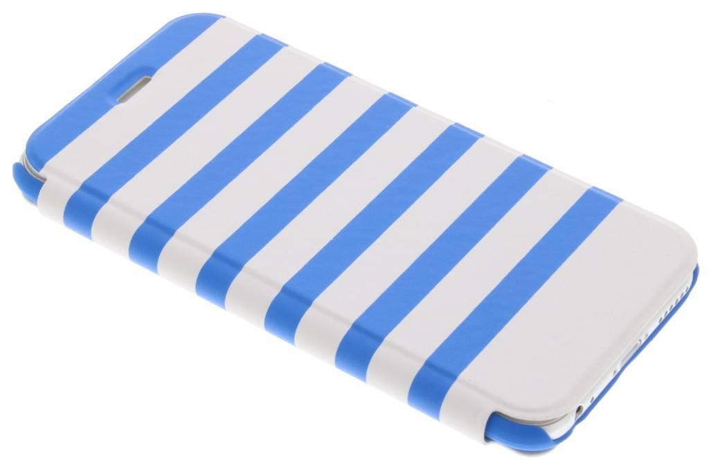 Hama Stripes Booklet Case voor de iPhone 6 / 6s - Blauw / Wit