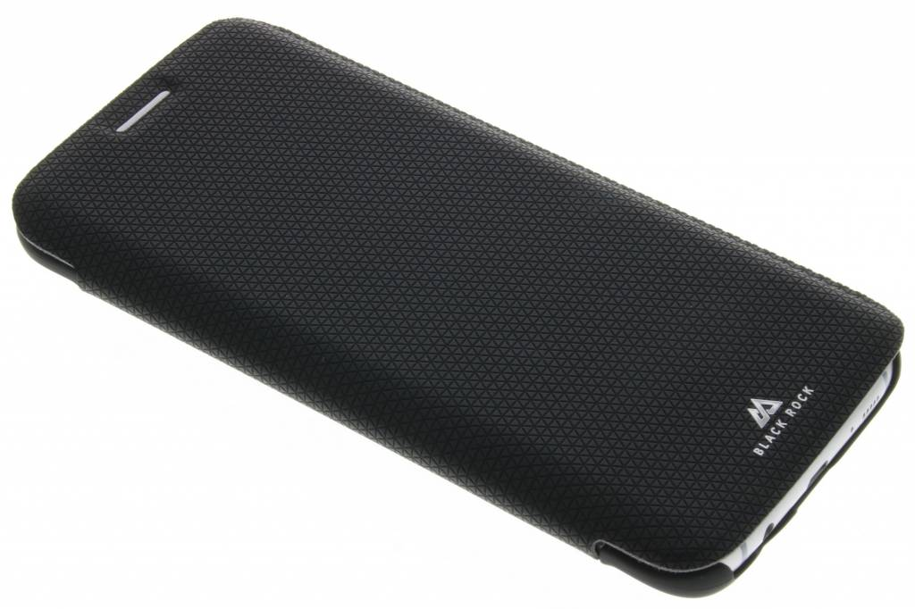 Black Rock Material Pure Booklet Case voor de Samsung Galaxy S7 Edge - Zwart