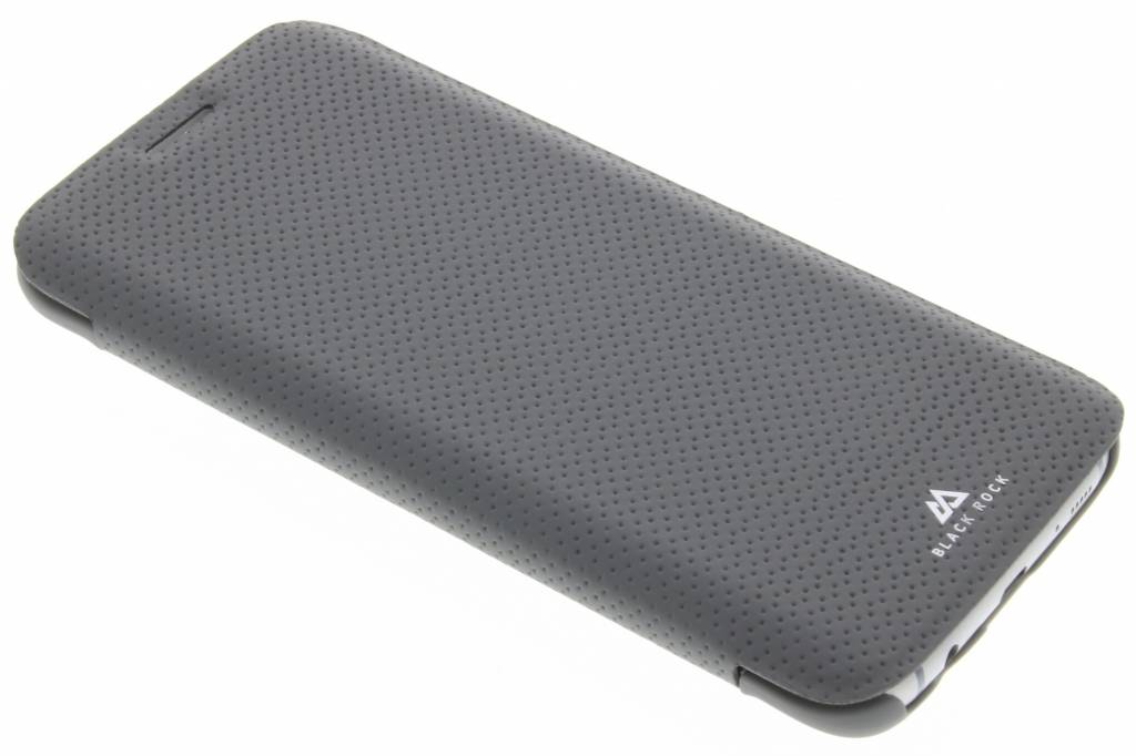 Black Rock Material Pure Booklet Case voor de Samsung Galaxy S7 Edge - Grijs