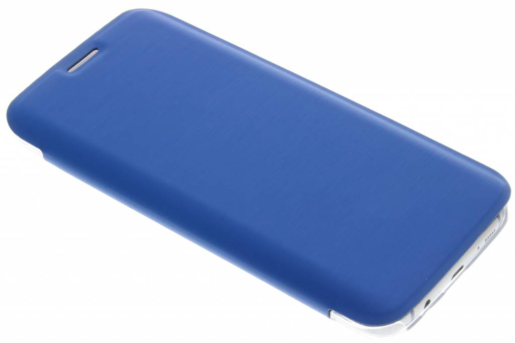 Hama Clear Booklet Case voor de Samsung Galaxy S7 Edge - Blauw