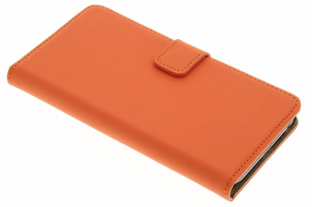 Selencia Luxe Book Case voor de LG Nexus 5X - Oranje