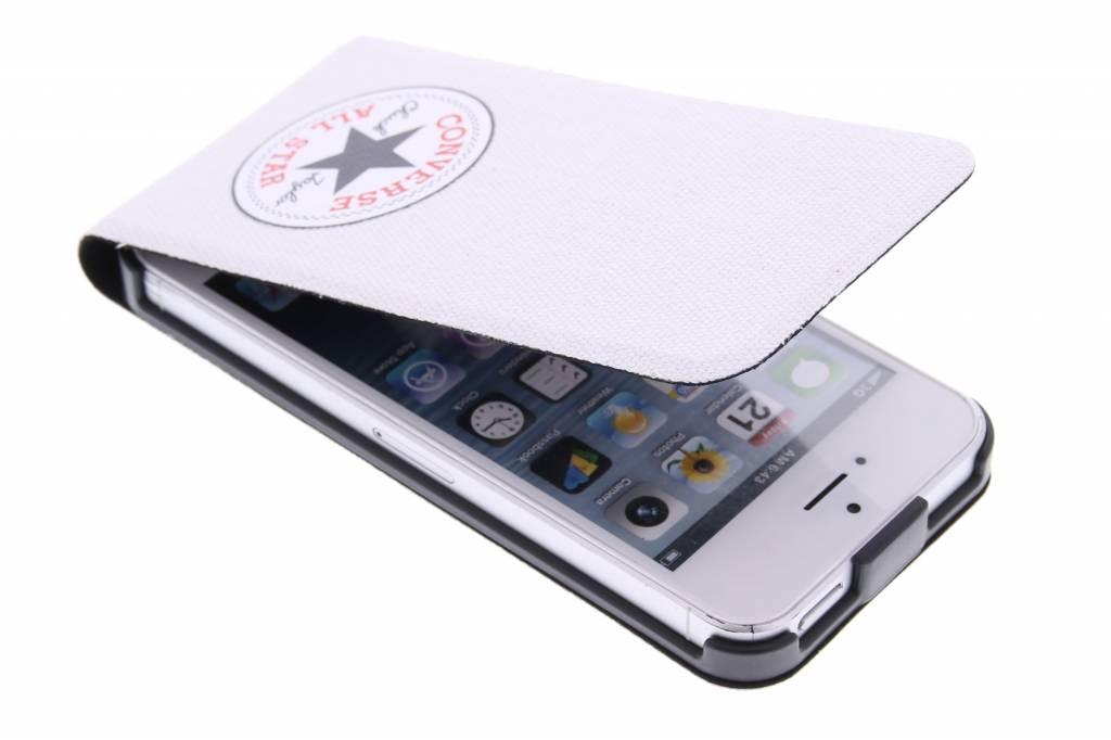 Image of Flip Case voor de iPhone 5 / 5s / SE - Wit