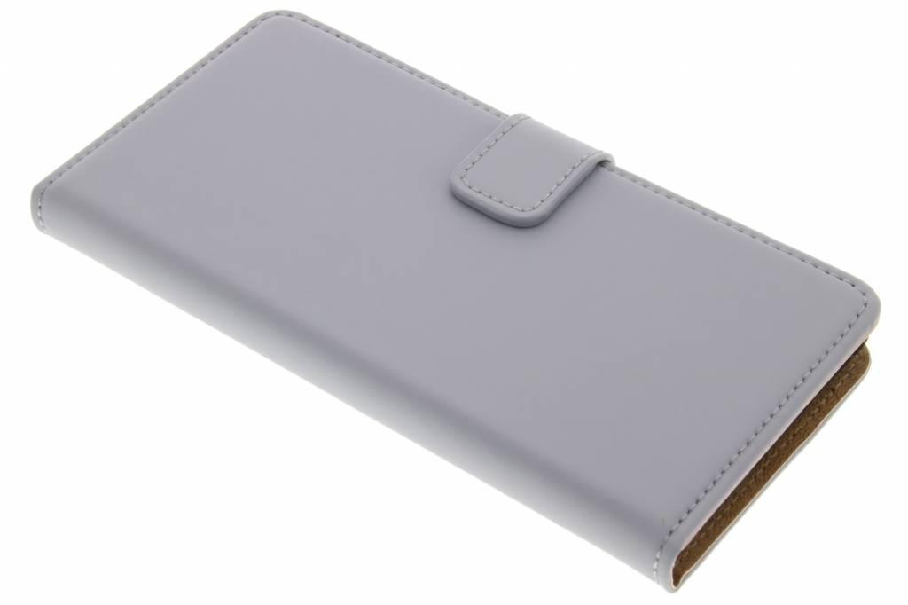 Selencia Luxe Book Case voor de Wiko Pulp 4G - Grijs